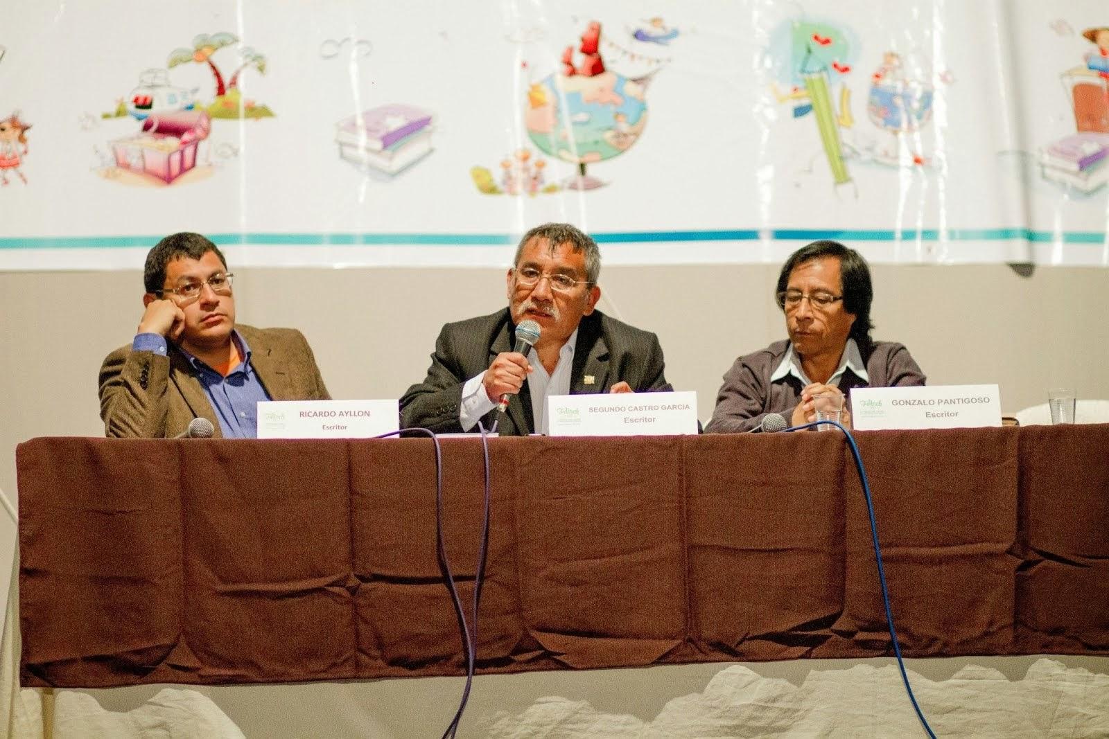 PRESENTACIÓN DE EL BAGRE PARTIDO. FERIA DEL LIBRO DE NUEVO CHIMBOTE