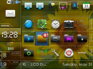 blik Free Download Tema Blackberry Gemini 8520