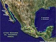 Mapa de México Orográfico