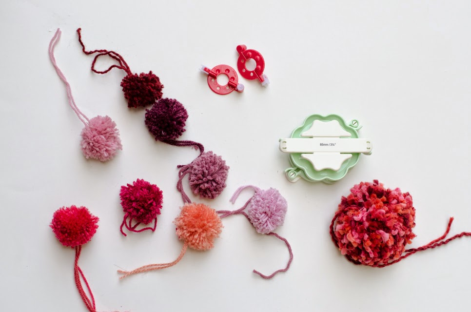 Knitters Pride Summer Fun With Pom Poms