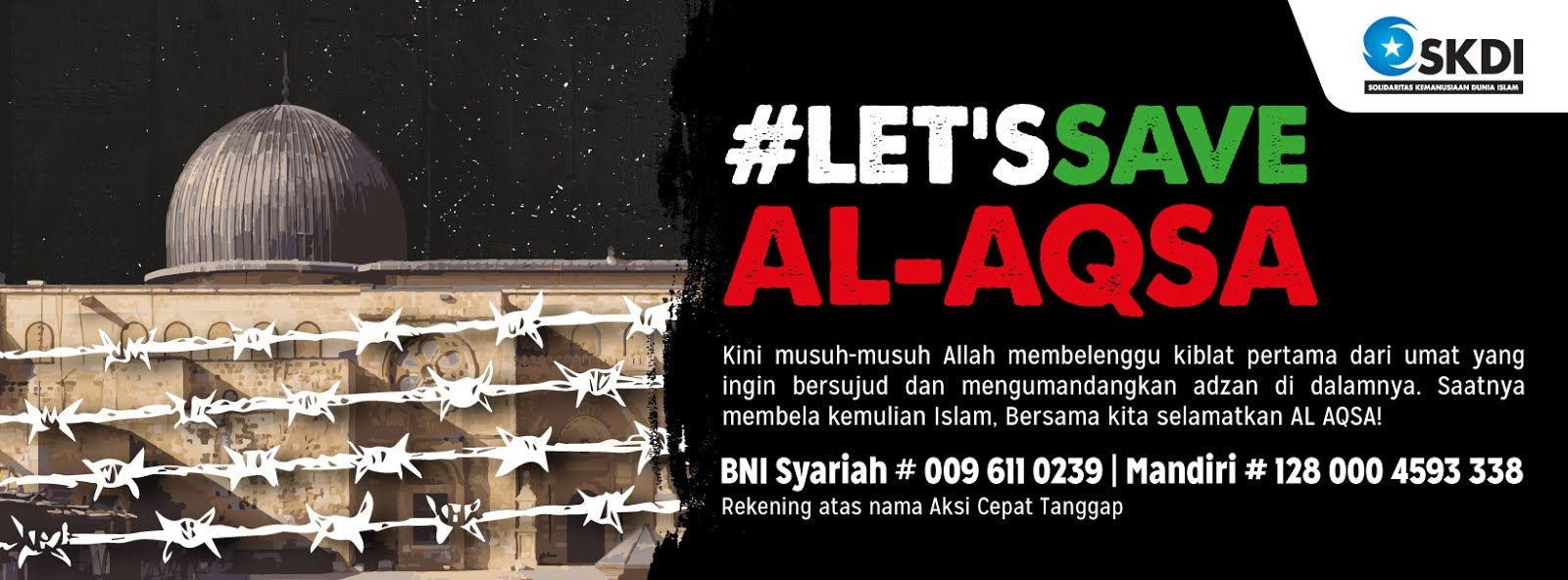 #LET'S SAVE AL-AQSA