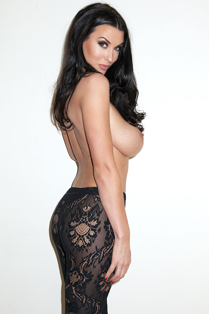 Alice Goodwin Topless, Naked And In Sexy See Through Lingerie For Frank White Photoshoot indianudesi.com
