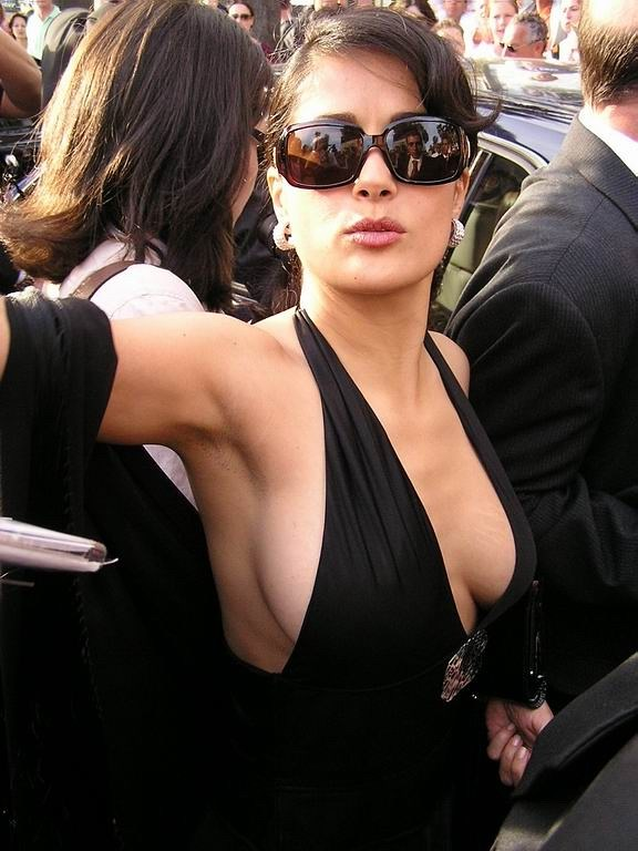 salma hayek showing hot boobs salma hayek showing hot boobs