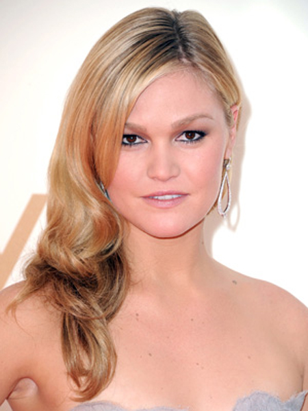 Julia Stiles Round Face Shape Hairstyles