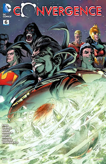 Cover of Convergence #6 from DC Comics