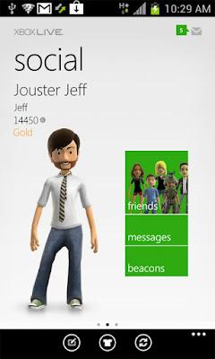 Microsoft lança Xbox Live oficial para Android