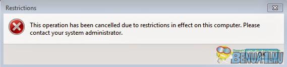 Mengatasi eror administrator saat instal idm