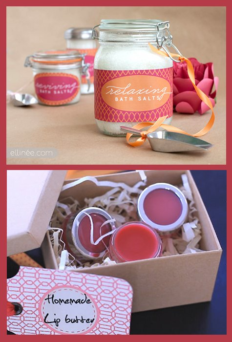 Diy Handmade Bath And Body Gifts