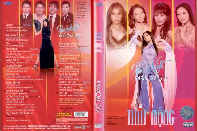 PBN Karaoke 59 – Tinh Mong (DVD9)