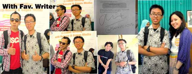 Meet And Greet sama @shitlicious, AlandaKariza, Wiendy