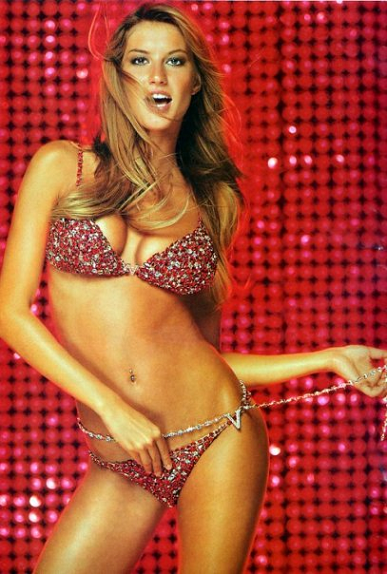 Ruby Fantasy Bra modelled by Gisele Bundchen