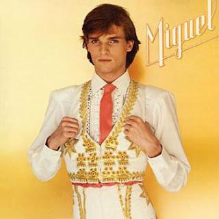 Carátula de Miguel (Miguel Bosé 1980)