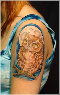 Owl Designs Tattoo