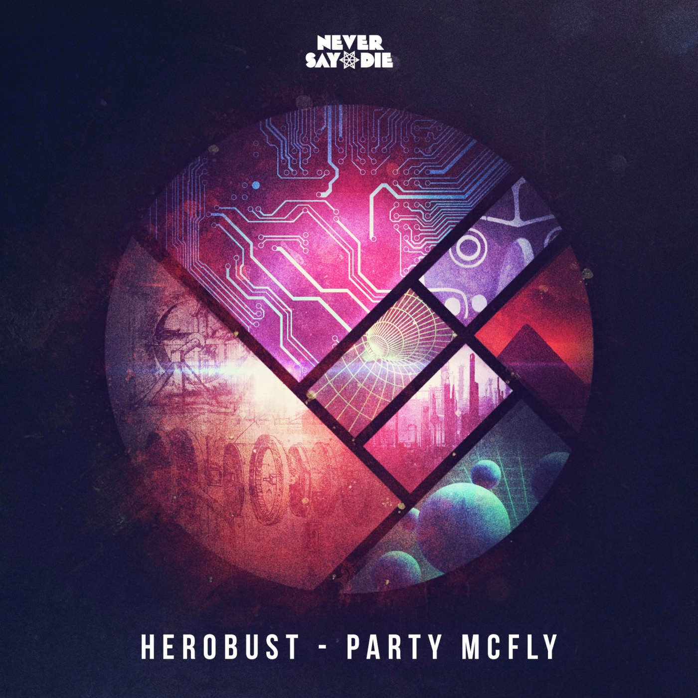 heRobust - Party Mcfly - Single Cover