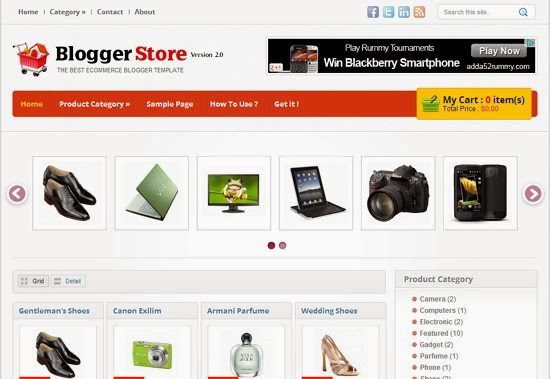 templates blogspot Blogger-Store-v.2
