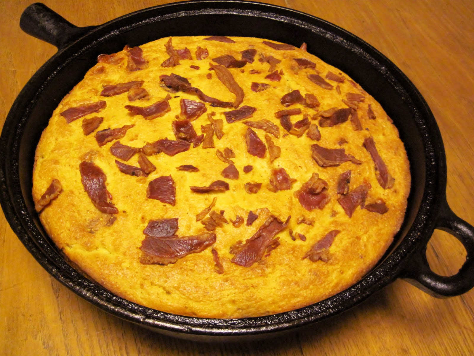 Carolina Sauce Company: Bacon PepperJack Cornbread