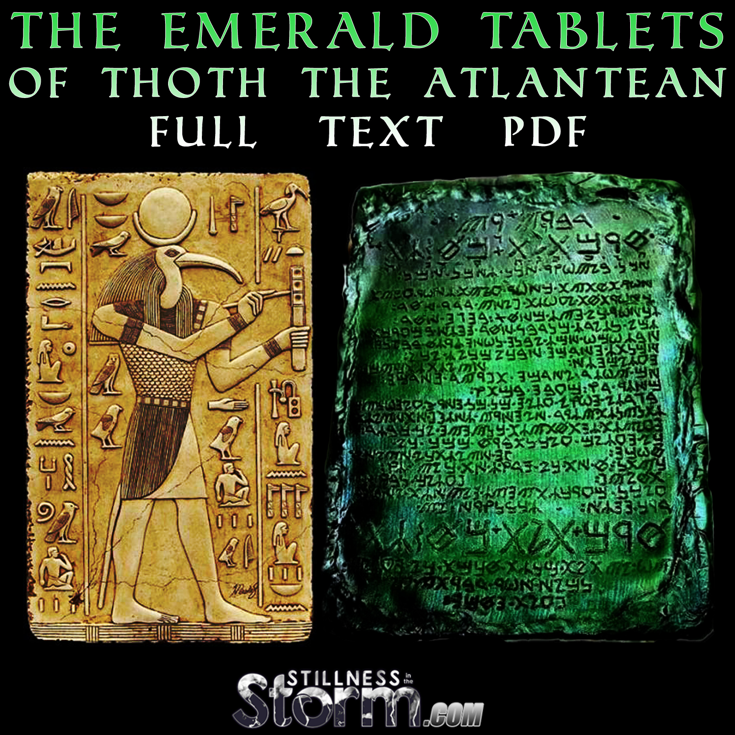 how to read egyptian tablets