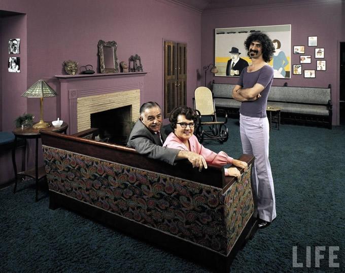 Papai Zappa, mamãe Zappa e o Zappinha