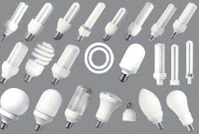 tamaños de bombillas bajo consumo