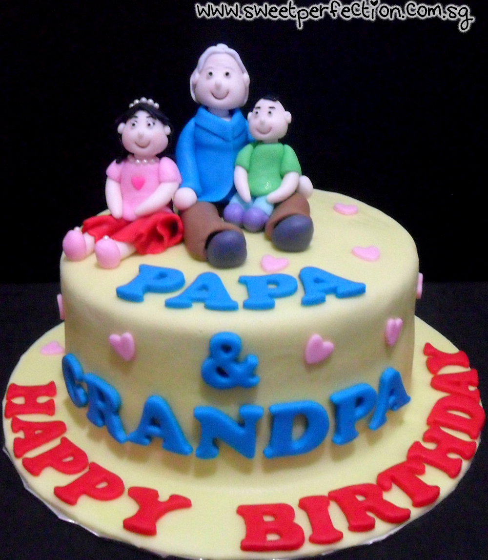 Sweet Perfection Cakes Gallery Code Family 07 Happy Birthday PaPa