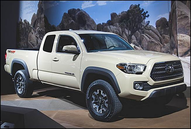 2016 Toyota Tacoma Double Cab Review UK