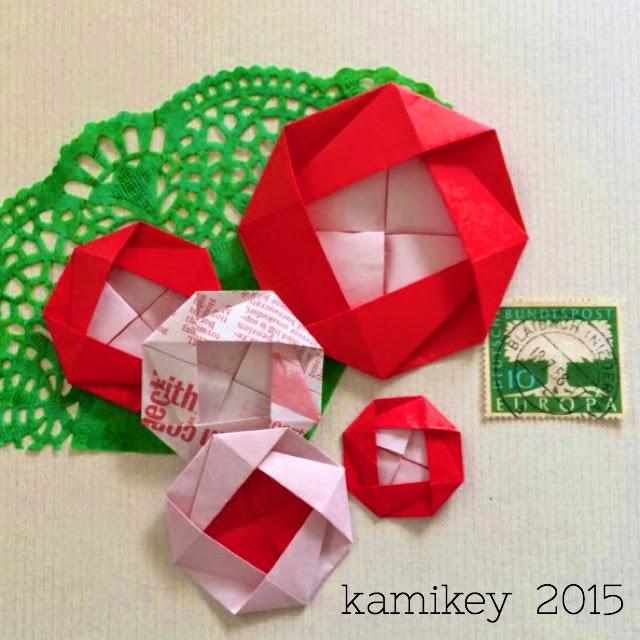 クリスマス 折り紙 折り紙 かわいい : origamilabo.blogspot.jp