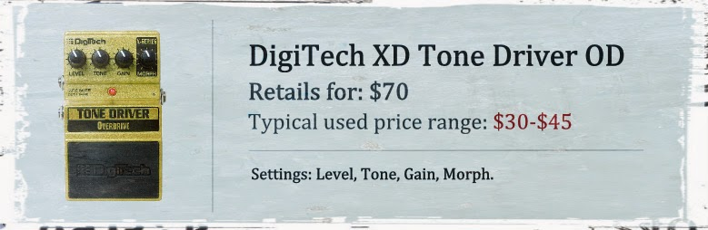 DigiTech XD Tone Driver Overdrive