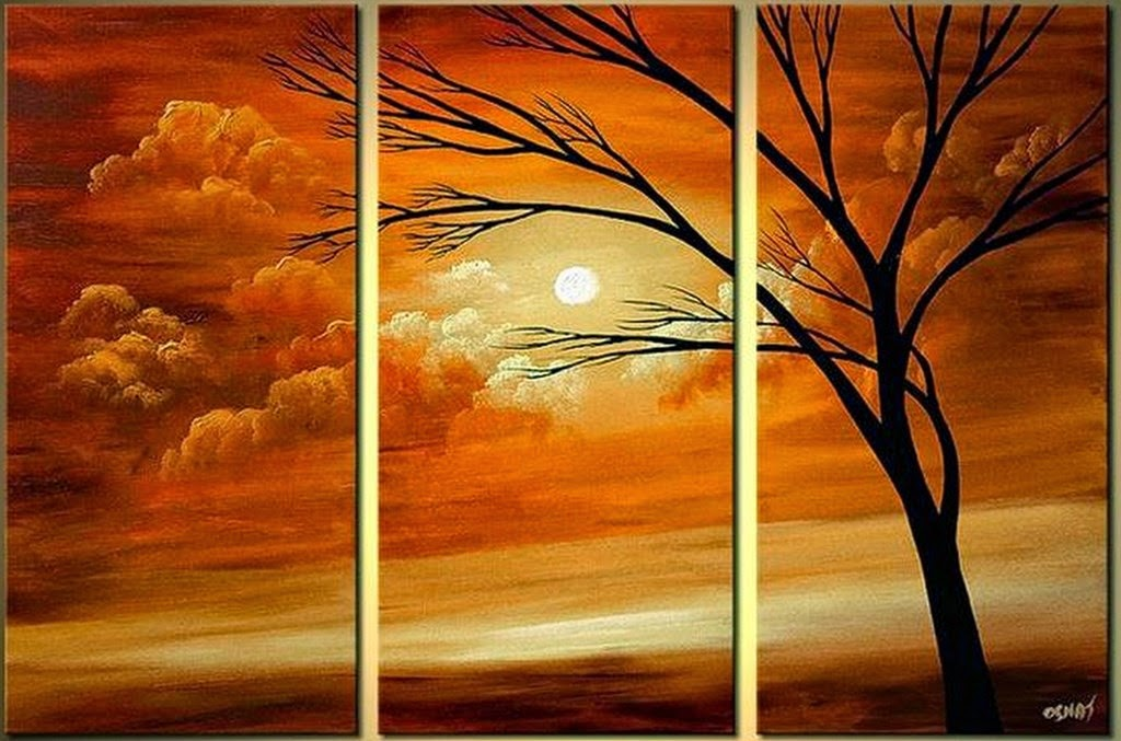 cuadros-de-paisajes-con-arboles-faciles