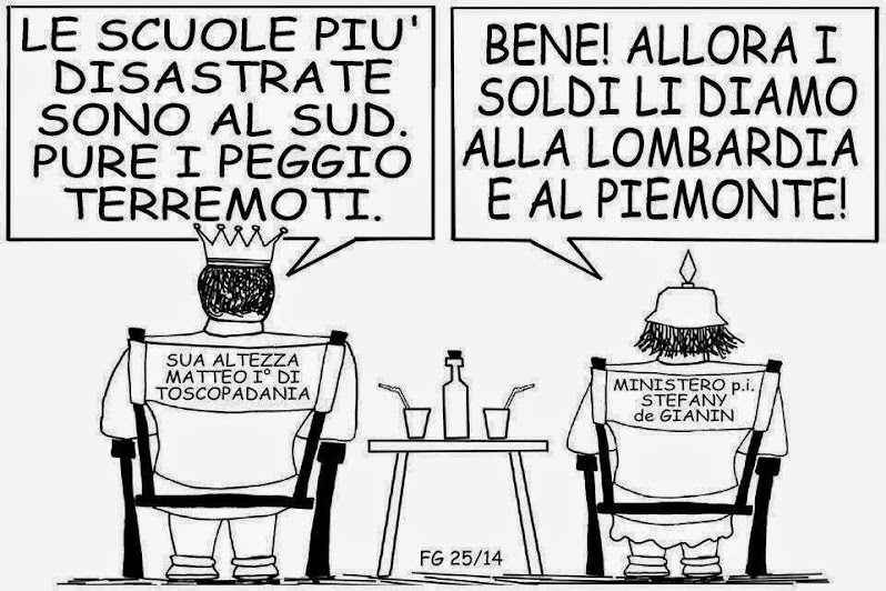 LA VIGNETTA DI FRANCO GALLO