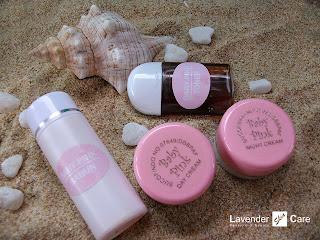 baby pink cream