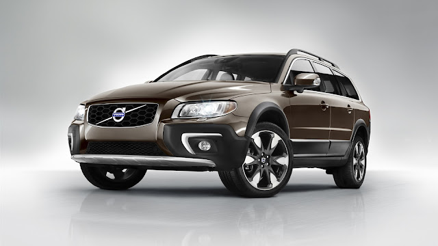 Volvo XC70 SUV Brown Car