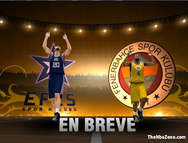 NBA 2k13 2013 8 European Teams Patch Download