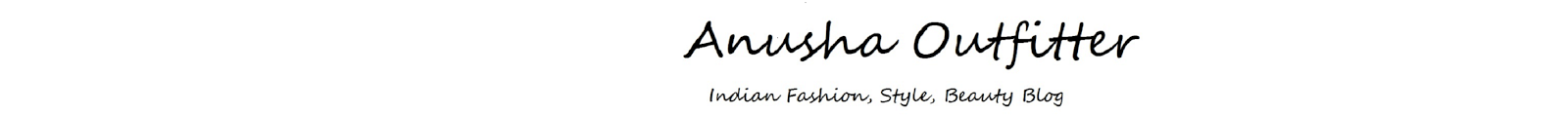 Anusha Outfitter