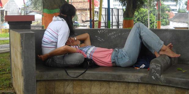 Inilah Shelter Mesum di Taman Kota Semarang