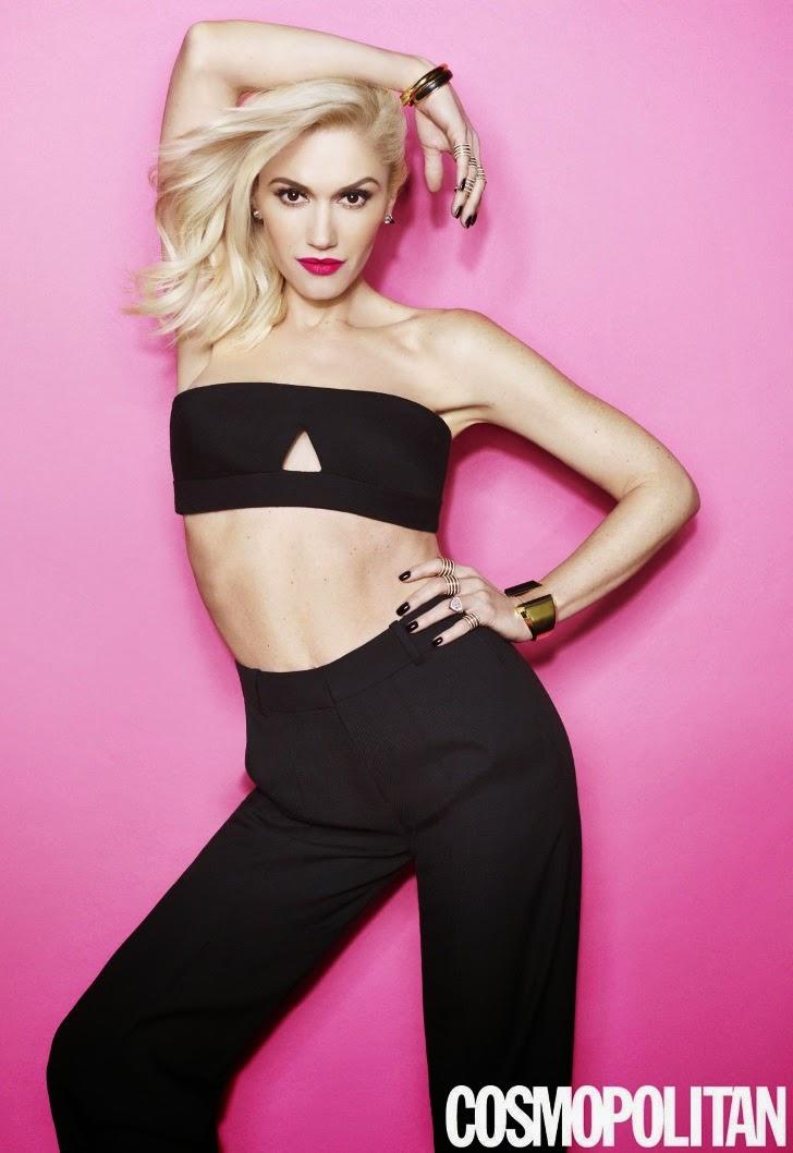 Gwen Stefani Cosmopolitan Magazine