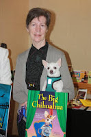 Waverly Curtis Author of the Pepe Series, photo image with Pepe