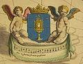 Siglo XVI - Escudo de Galicia sujetado por dos querubines