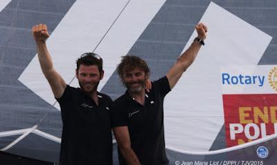 Yannick Bestaven et Pierre Brasseur remportent la Transat Jacques Vabre en Class40.