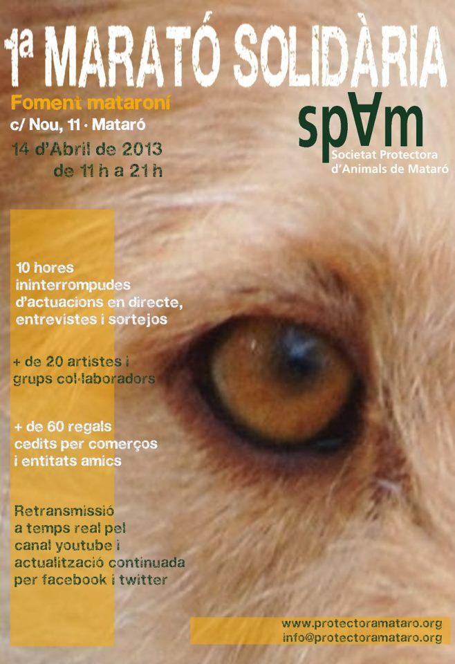 1a Marató solidària SPAM Mataró