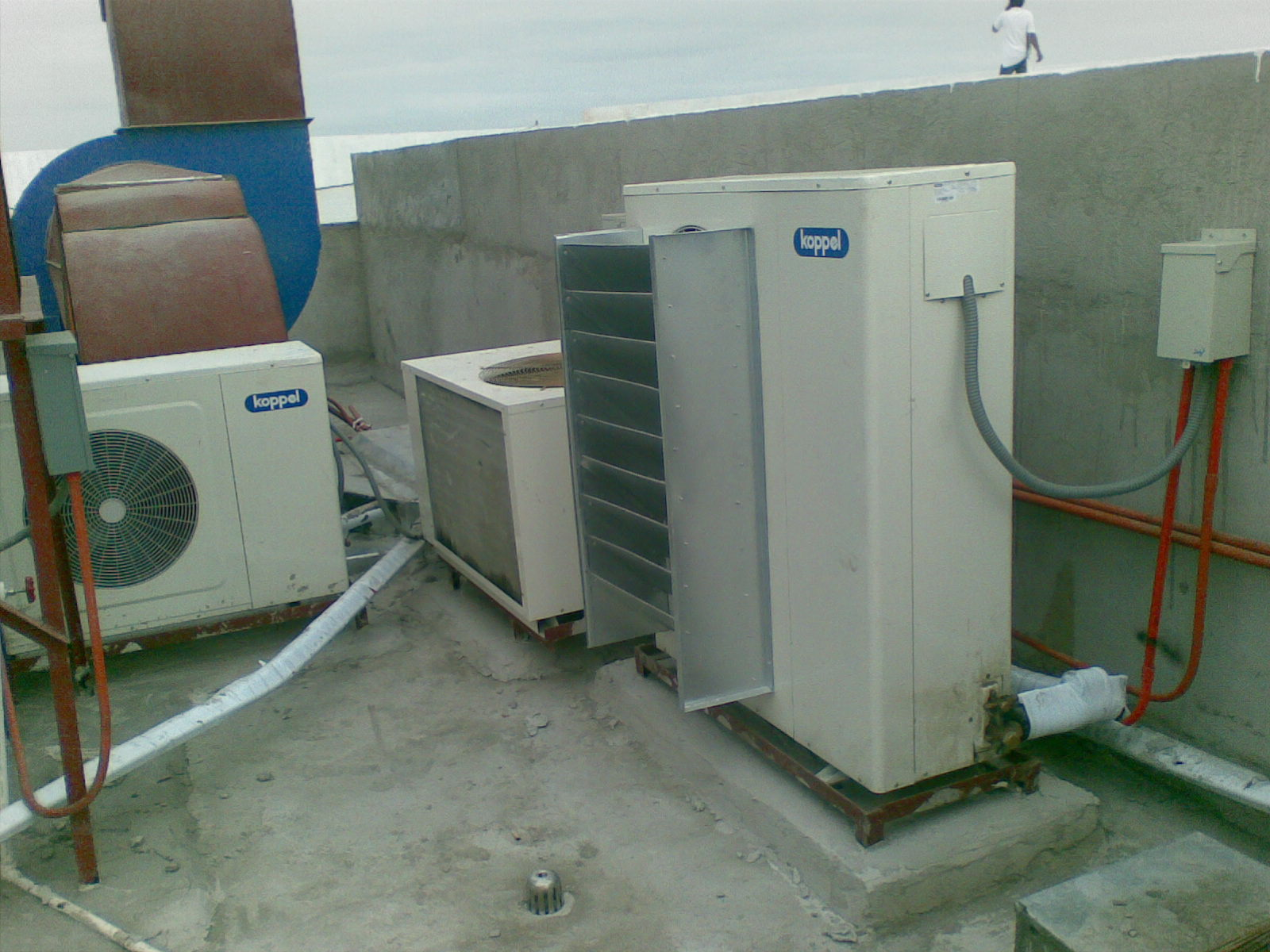 split type air conditioner is a type of air conditioning #1C4E6D