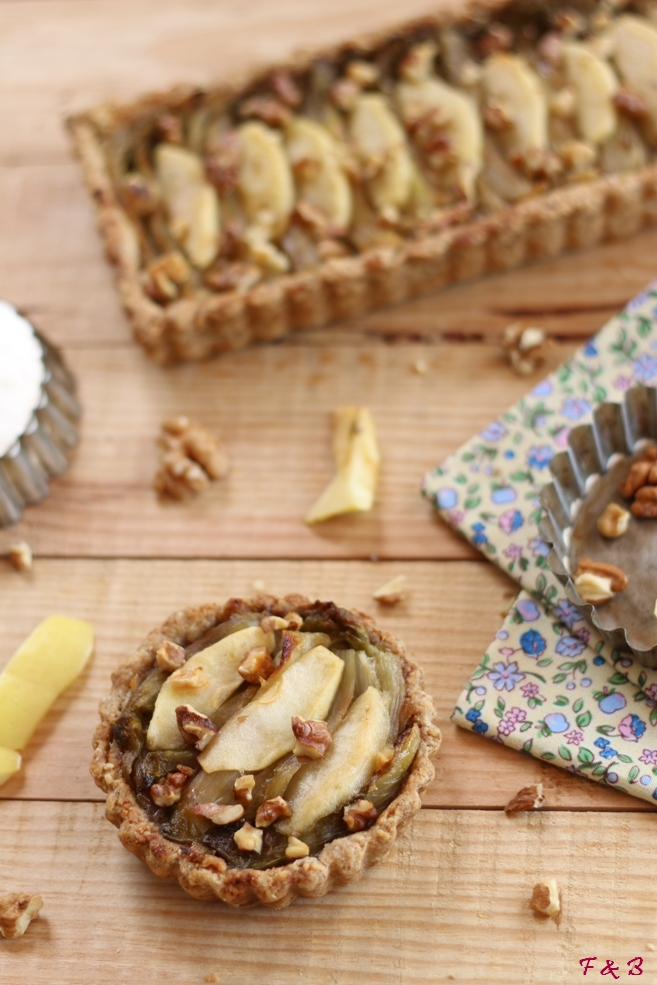 framboises bergamote tarte aux endives noix et pommes. Black Bedroom Furniture Sets. Home Design Ideas
