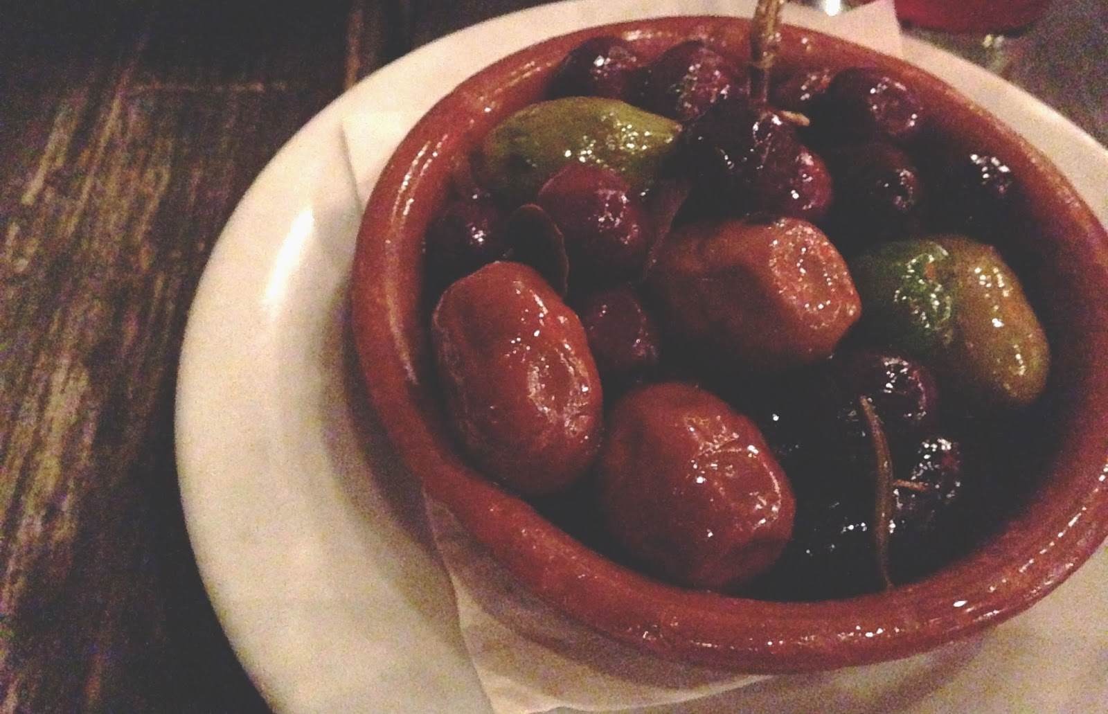 houston food - batanga marinated olives