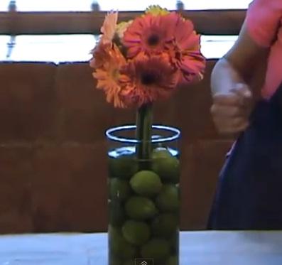 Centros de mesa para boda - Centros de mesa con limones ...