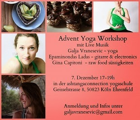 Workshop in Cologne  / Are you into yoga and healthy food?