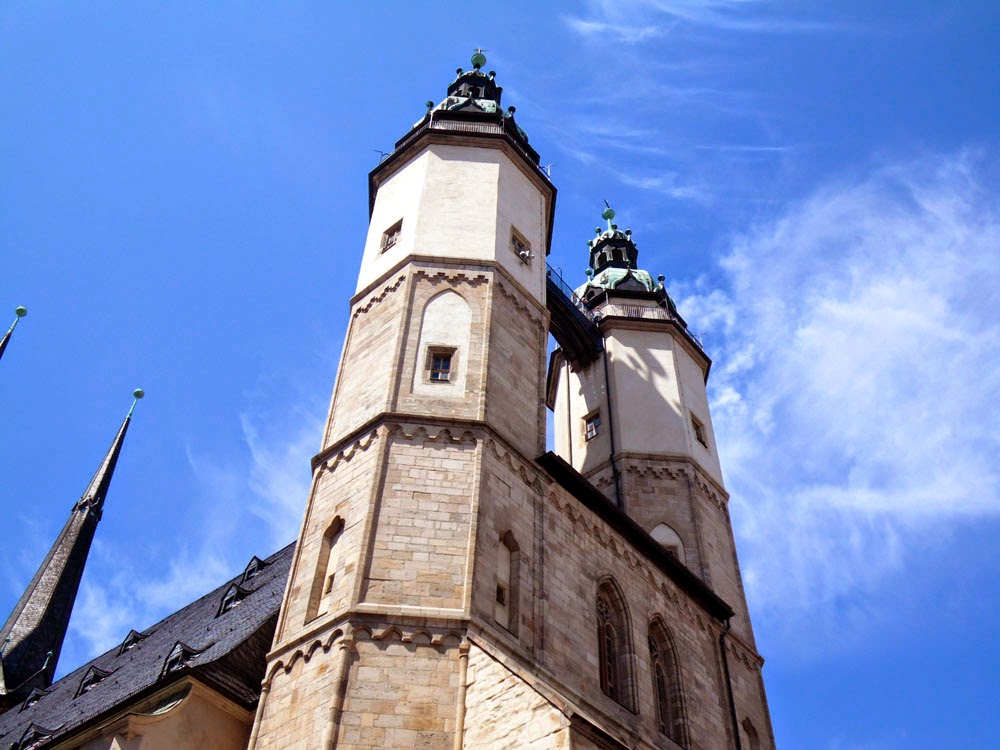 Eastern Towers of the Market Church, Halle