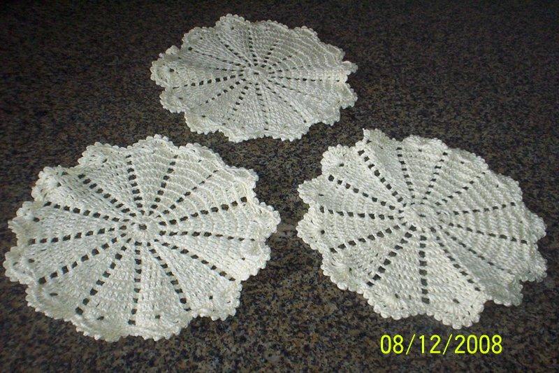 Qual O Correto Artesanato Ou Artesanato ~ Ponto X croche, pintura,bordado e artesanato em geral Toalhinhas de croche