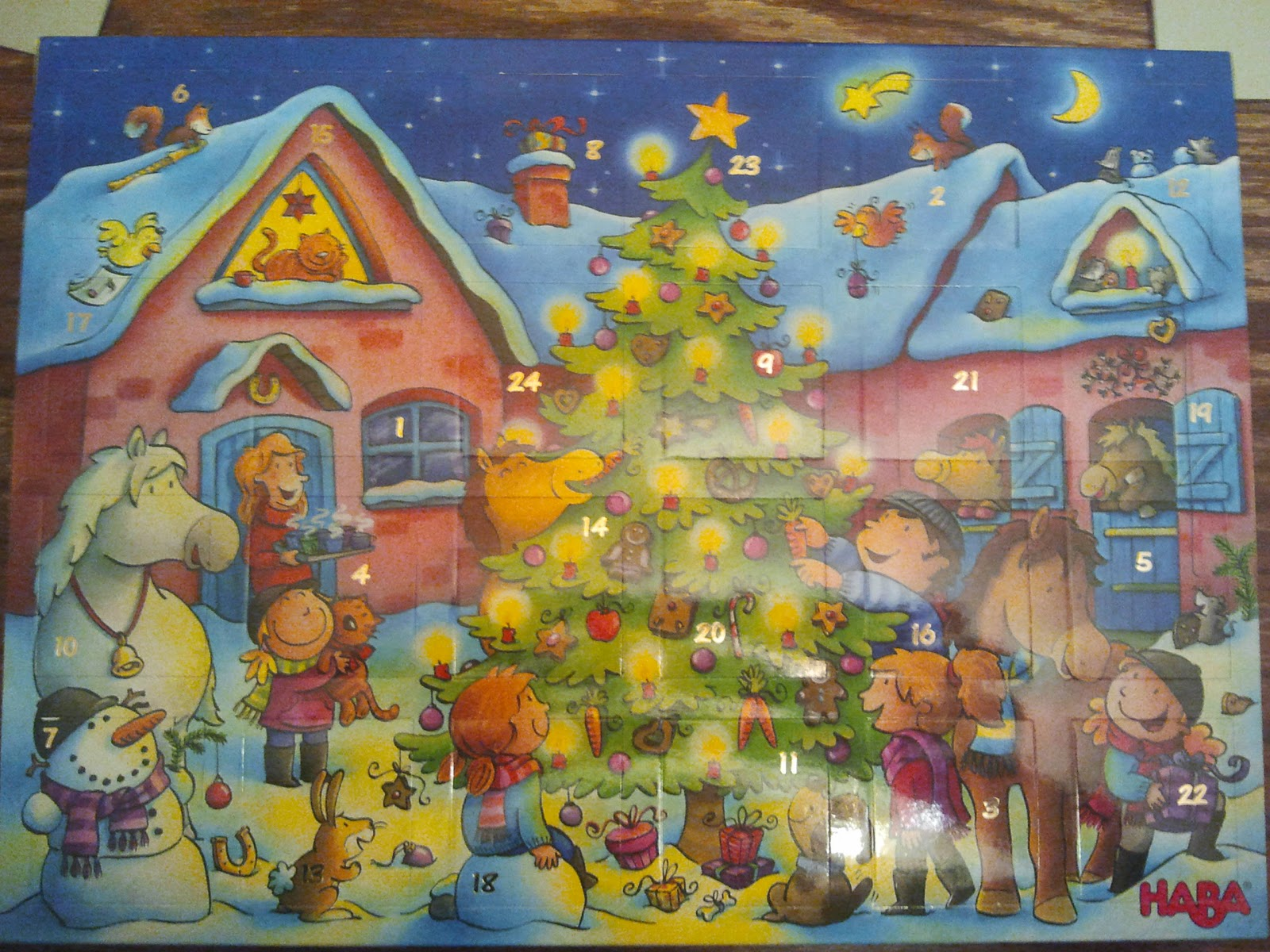 Squeaky Baby HABA Ratz Fatz Adventskalender Ponyhof Review