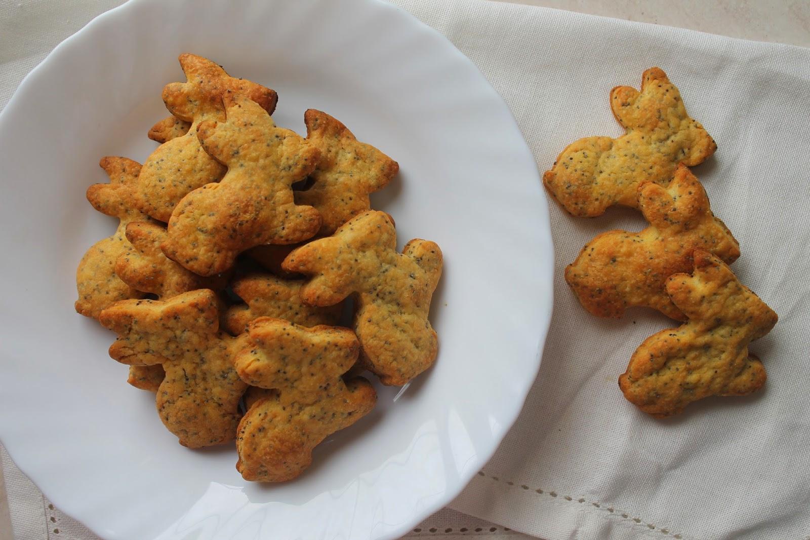 finger food - coniglietti al parmigiano e semi di papavero