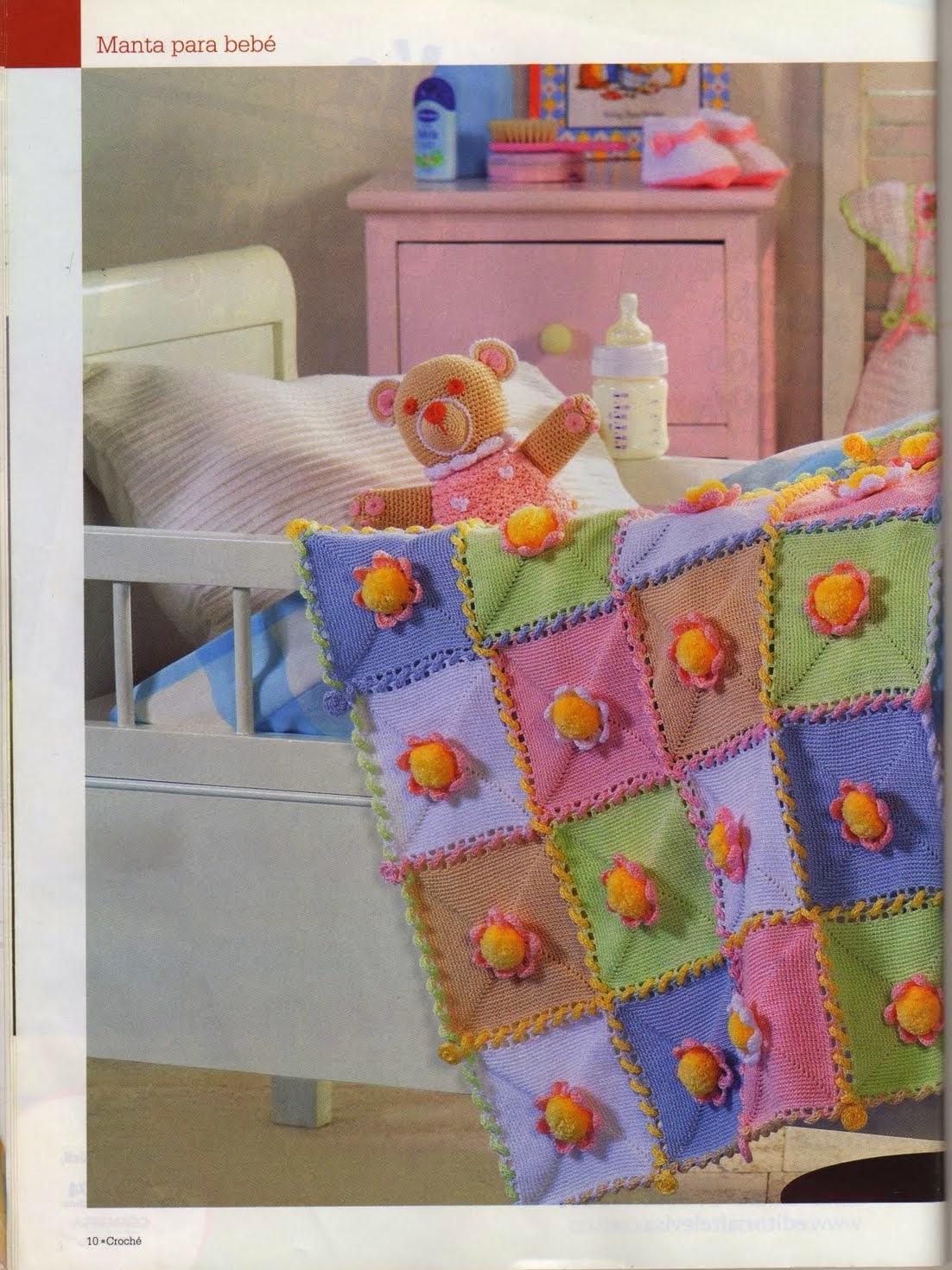Revista gratis prendas y accesorios para bebes - Revistas de crochet y