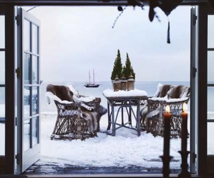 Terraces In Winter Garden Park